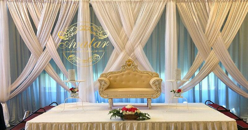 Wedding Reception Event Decor Winnipeg Manitoba