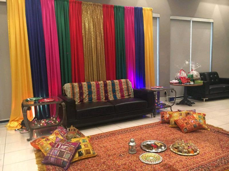 DECOR RENTAL DIY wedding backdrops and mehndi decor rentals