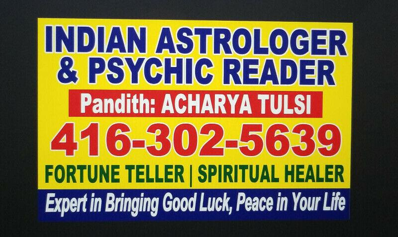 Indian Astrologer and Psychic reader , Ask one free question
