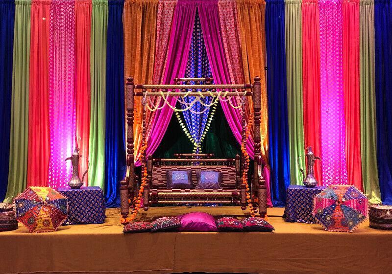 Jhoola (swing) for rent. Weddings, mehndi, Sangeet! Toronto